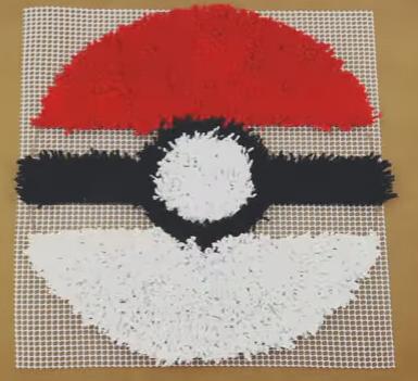 Una alfombra de Pokeball8