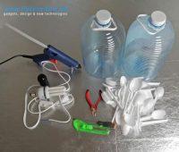 Como hacer lámparas con cucharillas