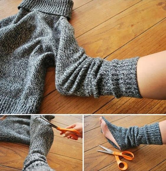 como hacer unas botas para estar en casa11