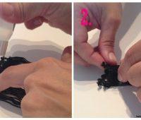 Cómo hacer zarcillos con flecos
