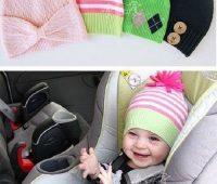 Cómo confeccionar  gorritos de bebé