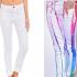 Como renovar jeans blancos pasó a paso