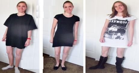 como-convertir-una-camiseta-en-un-vestido-facilmente1