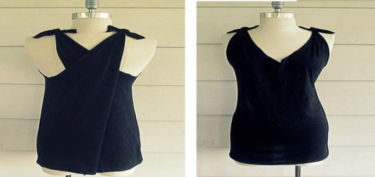 como-transformar-una-camiseta-en-un-vestido-sin-costuras6