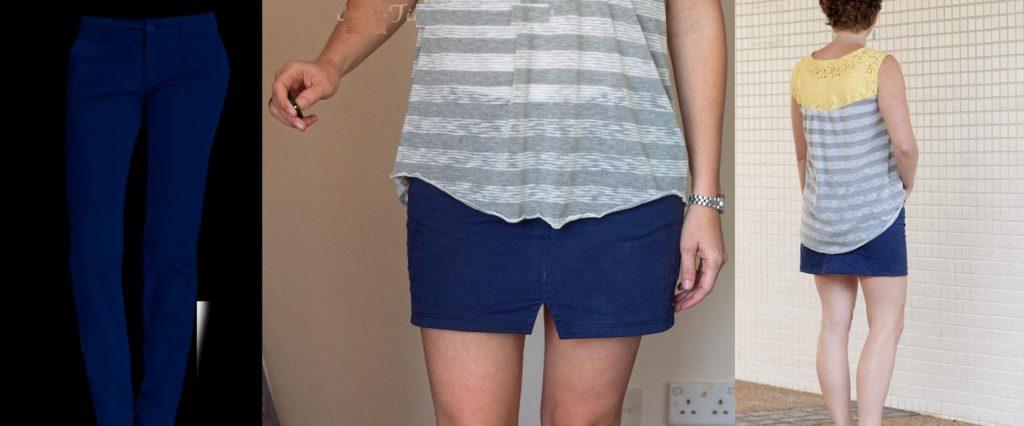 como-hacer-una-falda-con-un-pantalon