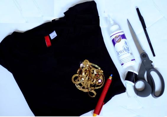 como-hacer-disenos-en-camisetas-con-lentejuelas2