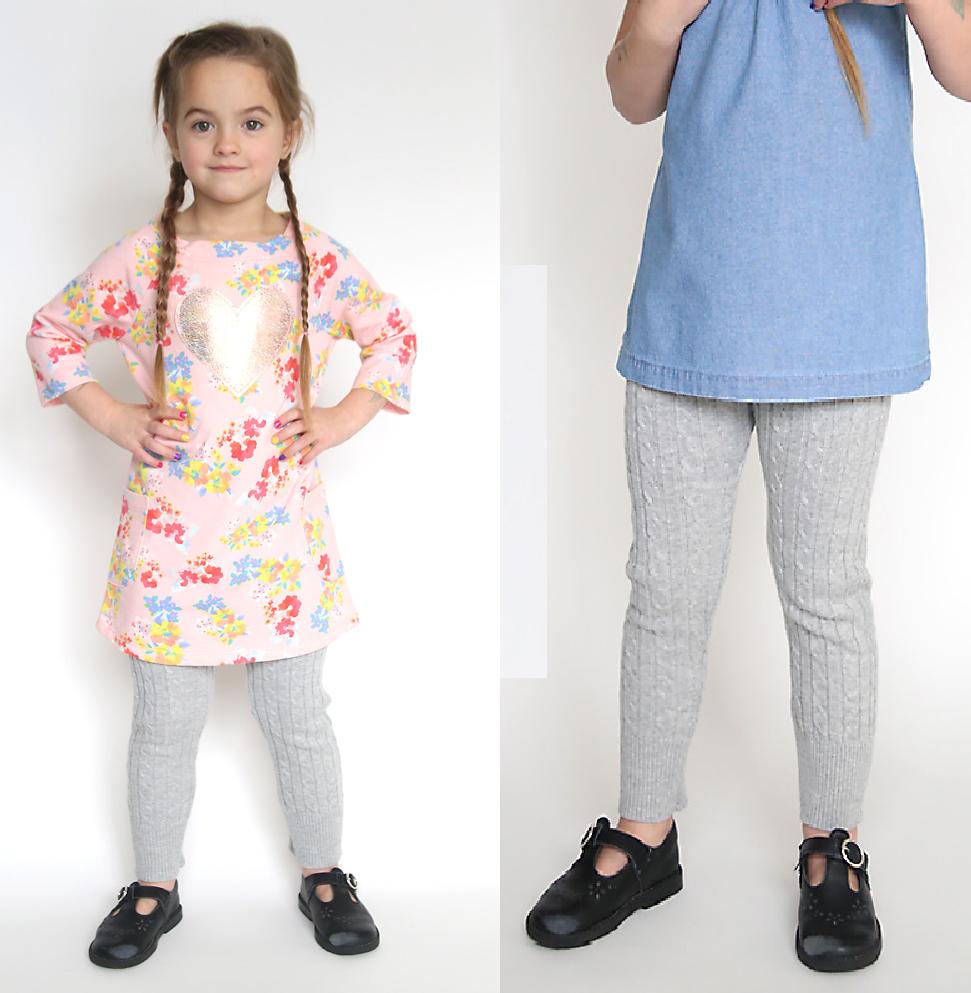 Como hacer leggins para niñas con viejos sueters6