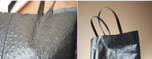 Como hacer un bolso de cuero fácilmente con moldes7