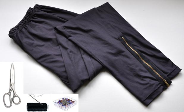 Como hacer un monedero con leggins2
