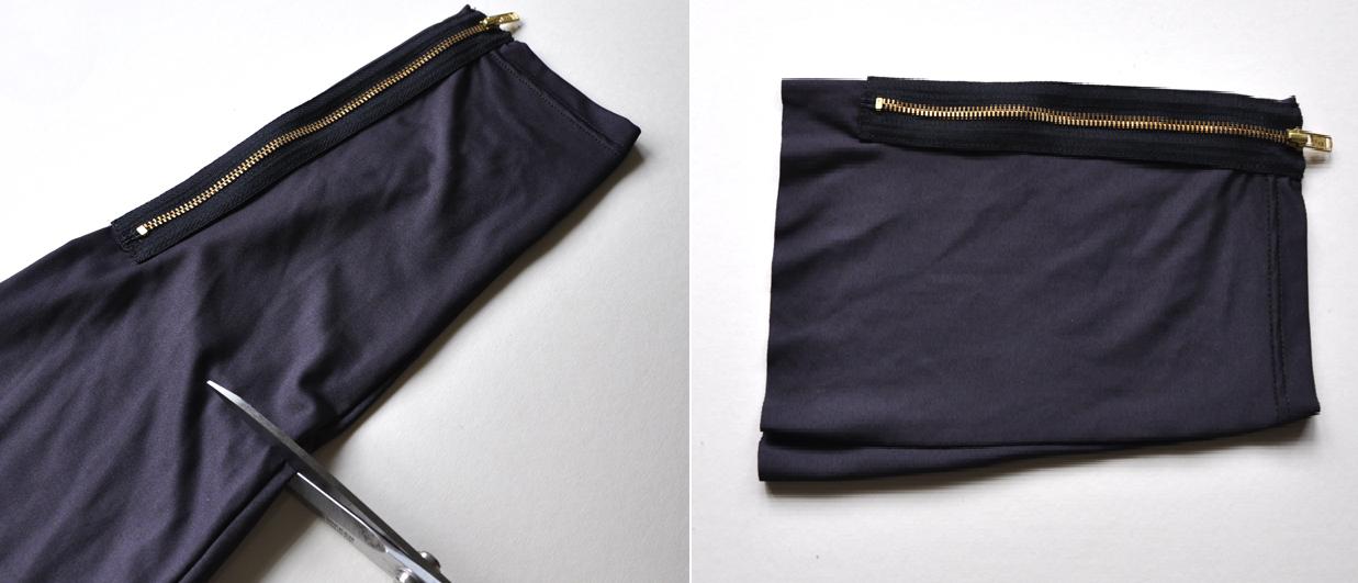 Como hacer un monedero con leggins3