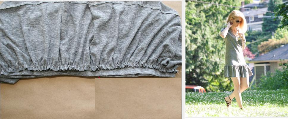 como-hacer-un-vestido-de-volados-con-dos-camisetas6