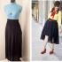 Como hacer una falda asimétrica