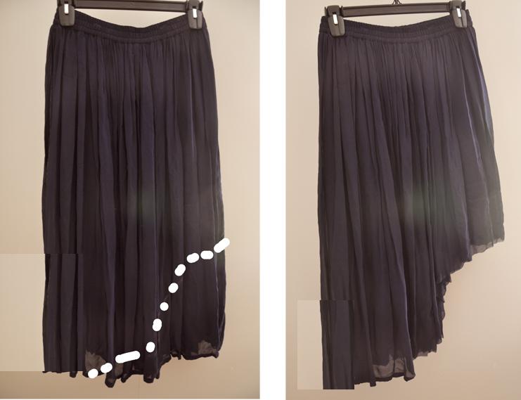 Como hacer una falda asimétrica3