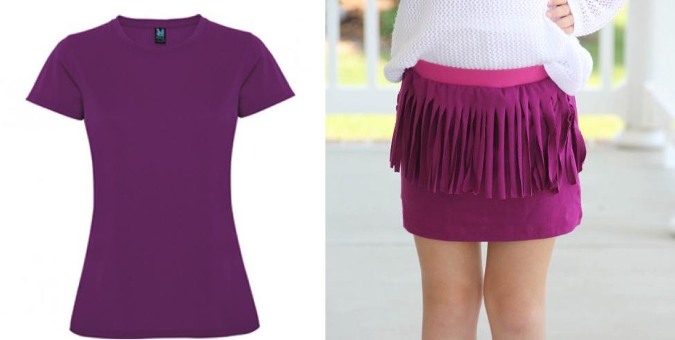 como-hacer-una-falda-de-flecos-con-una-camiseta-1