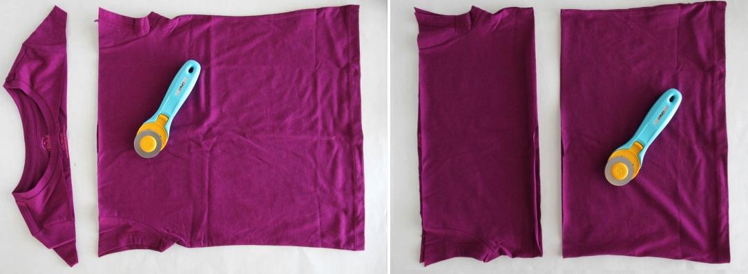 como-hacer-una-falda-de-flecos-con-una-camiseta-3