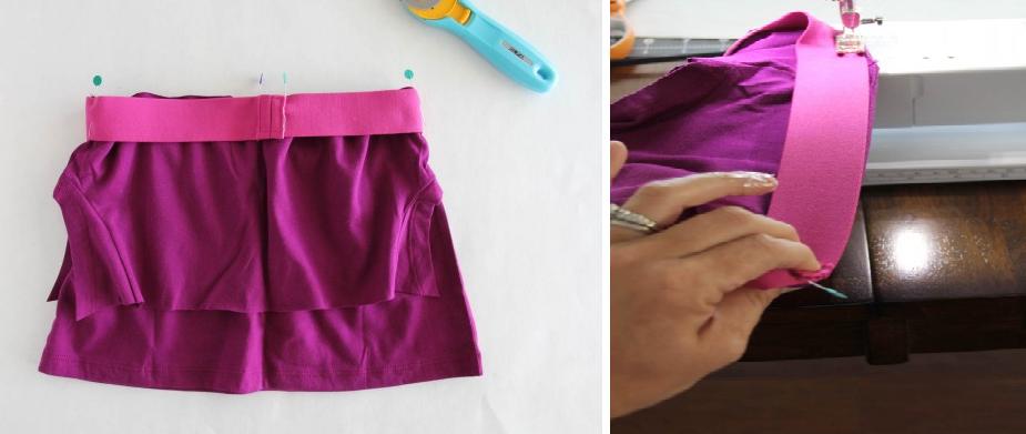 como-hacer-una-falda-de-flecos-con-una-camiseta-5