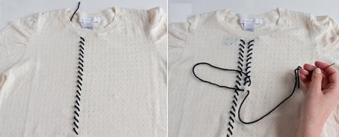 Como personalizar camisetas con bordados simples5