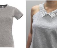 Como renovar camisetas con cuellos de encaje