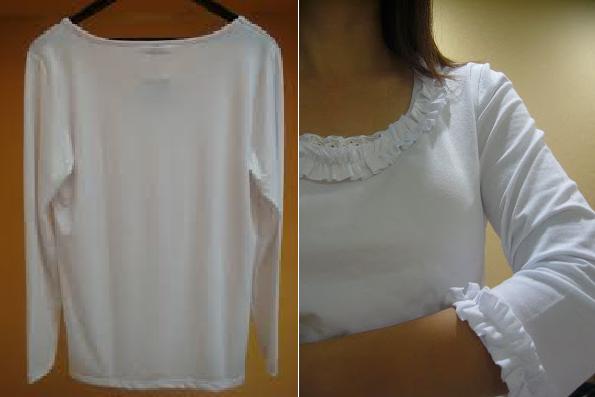 Como renovar camisetas manga larga con arruchados1