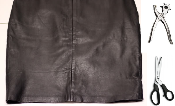 Como renovar ropa de cuero personalizando sus orillos2
