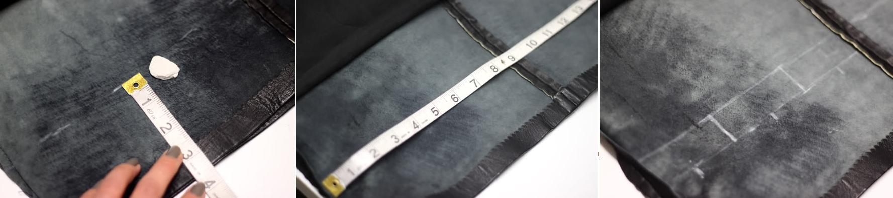Como renovar ropa de cuero personalizando sus orillos3