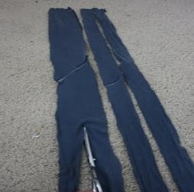 Como transformar camisetas manga larga en sin mangas con volados 5