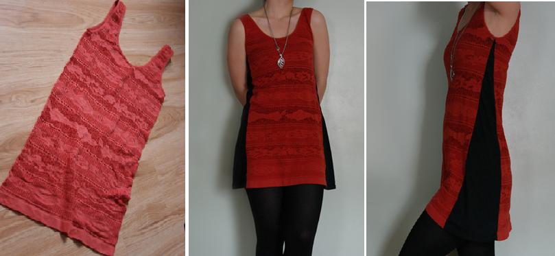 Como transformar franelillas en vestidos casuales1