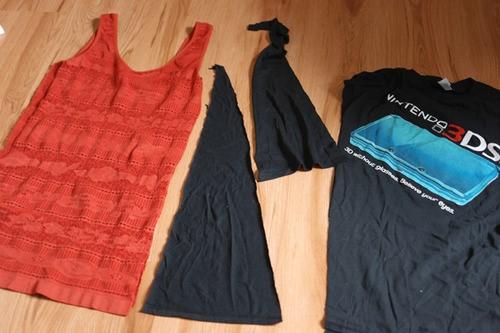 Como transformar franelillas en vestidos casuales4