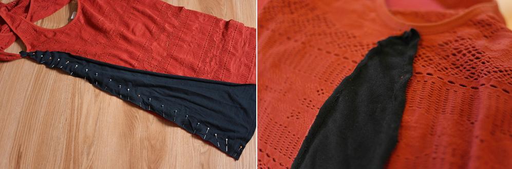 Como transformar franelillas en vestidos casuales5