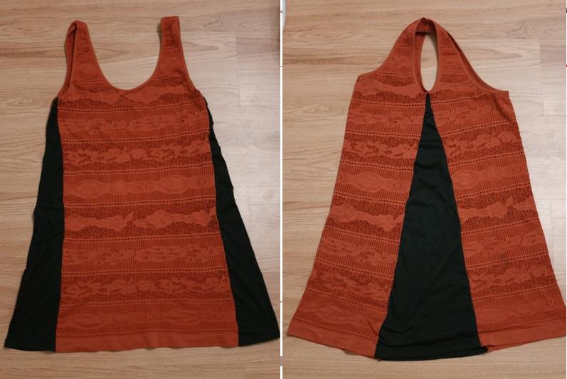 Como transformar franelillas en vestidos casuales6