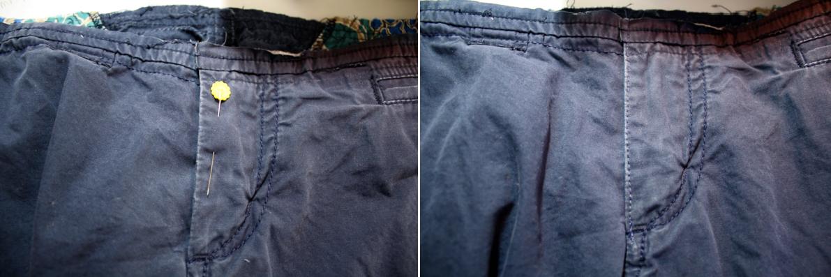 Como agrandar pantalones en la cintura ¡Ideal para embarazadas!5