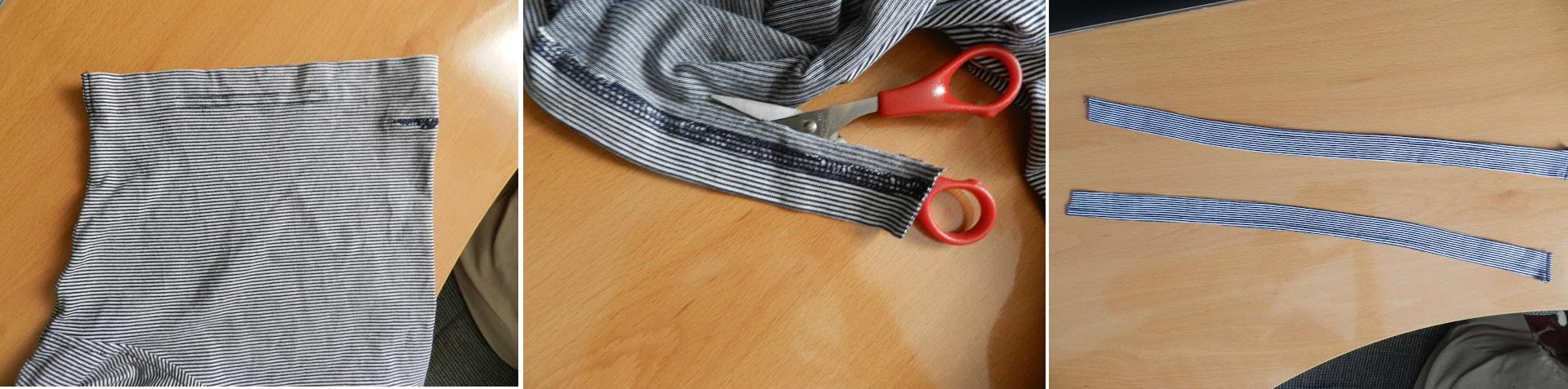 Como hacer un vestido con una camiseta de hombre5
