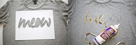 Como personalizar camisetas con lentejuelas4