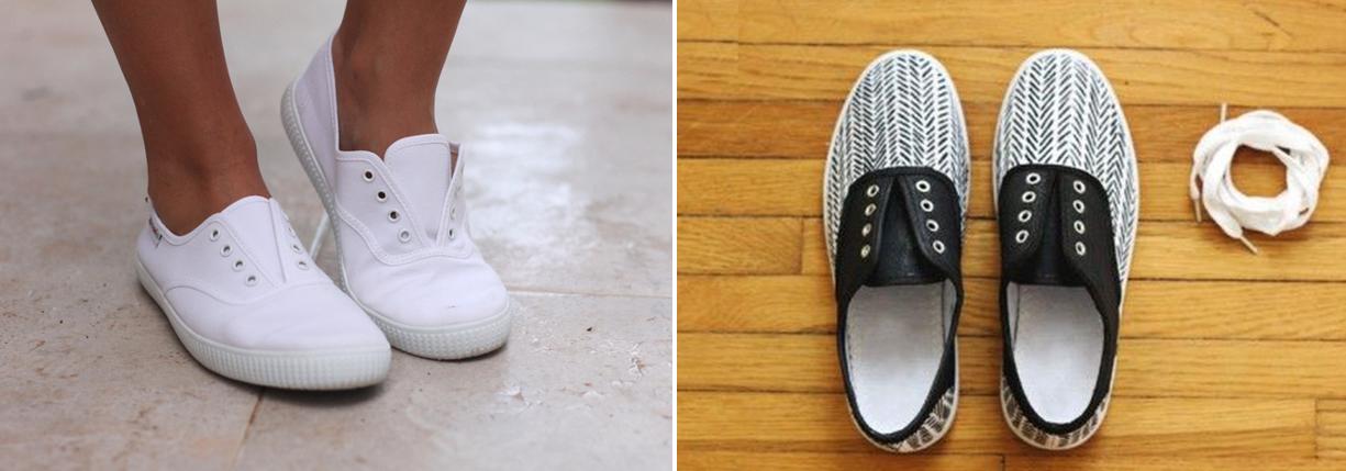 Como renovar zapatillas con marcadores permanentes1
