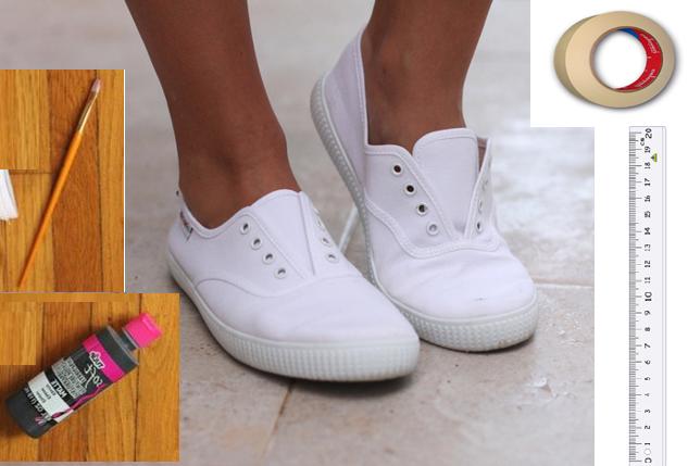 Como renovar zapatillas con marcadores permanentes2