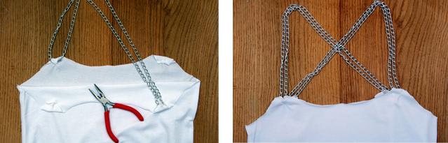 Como transformar camisetas en tops facil y rapido6