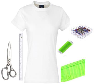 Como hacer chalecos de flecos con camisetas2