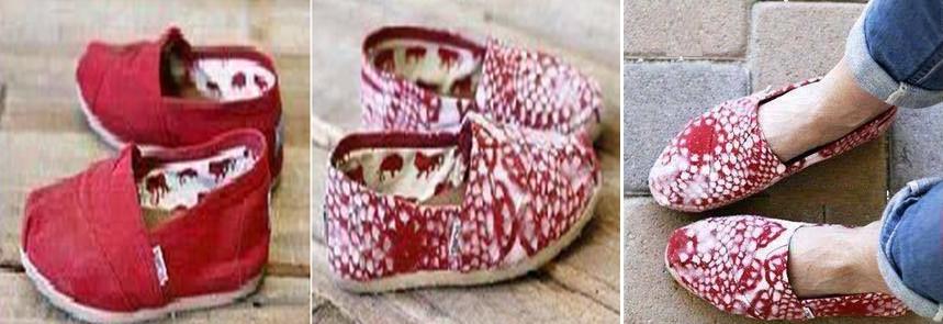 Como renovar zapatillas de tela con tapetes1
