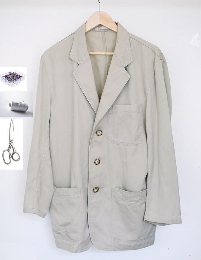 Como transformar una chaqueta en una falda facilmente2