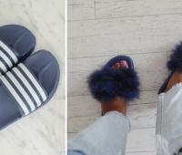 Como personalizar sandalias plásticas para usar en casa