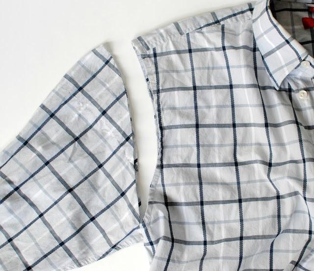 Como transformar una camisa de hombre en un vestido casual en 3 simples pasos3