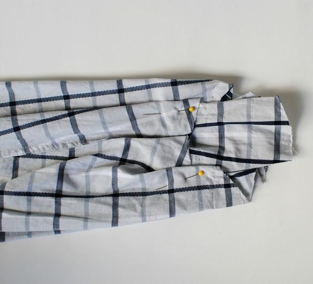 Como transformar una camisa de hombre en un vestido casual en 3 simples pasos4