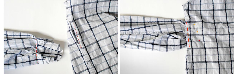 Como transformar una camisa de hombre en un vestido casual en 3 simples pasos5