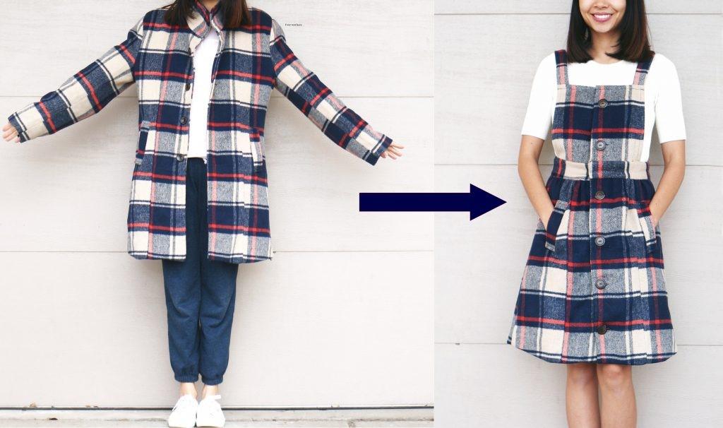 Como transformar viejas chaquetas en jumpers pasó a paso1
