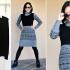Como transformar viejos sueters en un vestido dos tonos pasó a paso