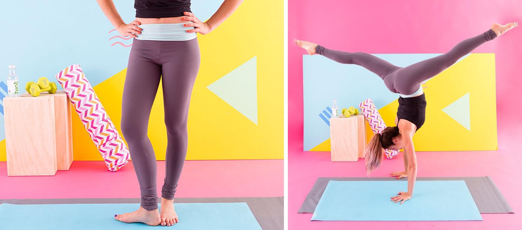 Como hacer leggins pretina ancha en simples pasos1