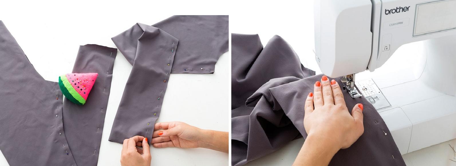 Como hacer leggins pretina ancha en simples pasos5