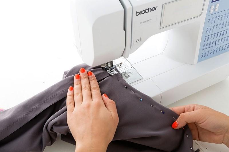 Como hacer leggins pretina ancha en simples pasos7