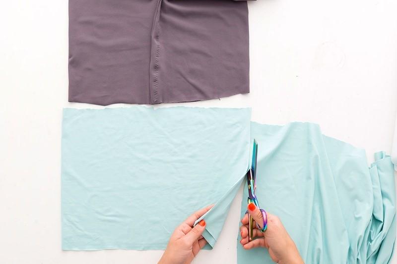Como hacer leggins pretina ancha en simples pasos8