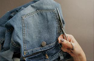 Como hacer minibolsos bohemios con viejos jeans3